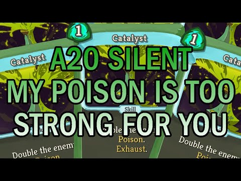 THE POISON CLASSIC! | Ascension 20 Silent Run | Slay the Spire