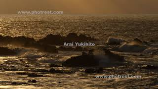 越前海岸の動画素材, 4K写真素材