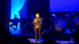 Speech before You raise me up by John Barrowman London Palladium 24/05/2015