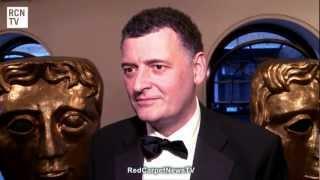 Steven Moffat Interview - Sherlock & Doctor Who - BAFTA TV Craft Awards 2012