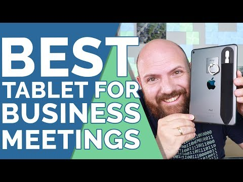 iPad Mini 5 vs iPad Pro 2018 - Best Device For Business Meetings in 2019