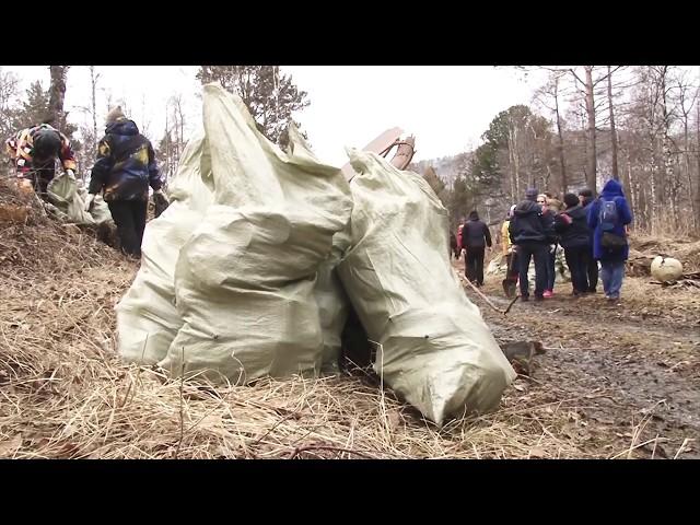 Российский министр навёл порядок в Листвянке