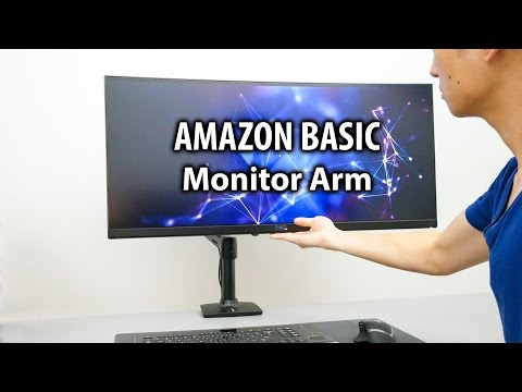 The Best Monitor Arm For My Ultrawide Monitor? - Amazon Basic Monitor Arm Mount