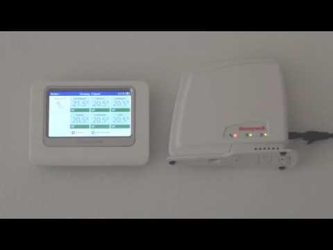 De RFG100 Internet-gateway verbinden met internet | Honeywell Home