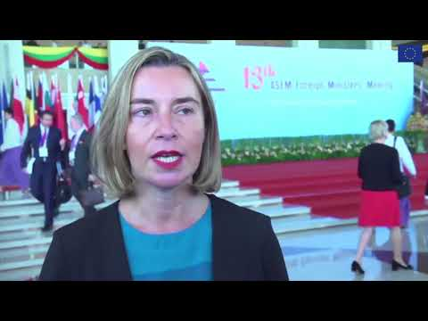 ASEM Foreign Ministers Meeting, Nay Pyi Taw, Myanmar, 20-21 November 2017