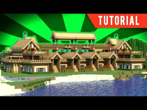Download minecraft tutorial how to make a big mansion