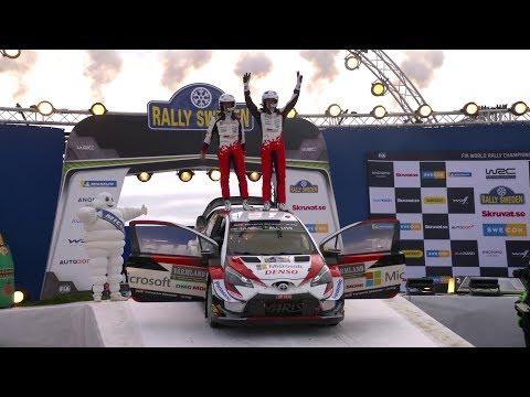 WRC 2019 Rd.2 スウェーデン ハイライト動画 | TOYOTA GAZOO Racing