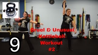 Kettlebell Workout: Cruel and Unusual #2 by Vadim Fitness Studio