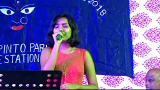 SONG BY SWARNALI MITRA AT OLD PINTO PARK 2018 AS ON (17-10-2018)