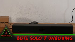 Bose Solo 5 Unboxing [German/4K HDR]