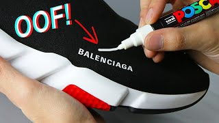 OOF! Drawing On Expensive Shoes - Win $10,000 Challenge