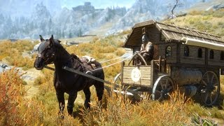 Skyrim Mods - Gypsy Eyes Caravan