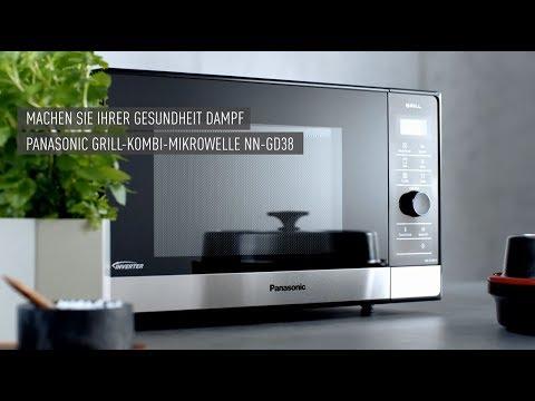 Panasonic Mikrowelle NN-GD38: Preisbewusst dampfgaren