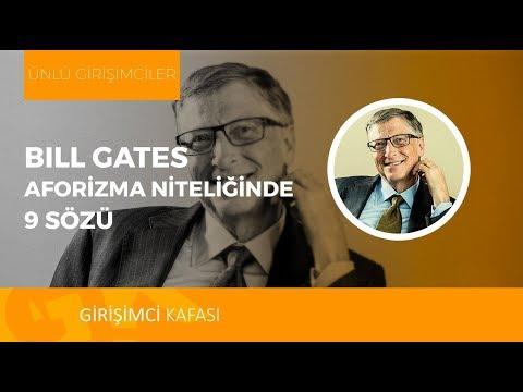 Bill Gates'ten İlham Verici 9 Söz!