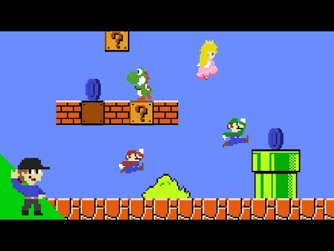 Mario's Easter Egg Hunt Mayhem