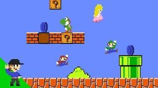 Mario's Easter Egg Hunt Mayhem - dooclip.me