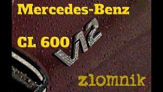 Złomnik: Mercedes CL 600 za 4,07 miliarda złotych