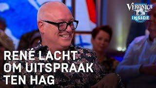 René lacht om uitspraak Ten Hag: 'Koiboys?' | VERONICA INSIDE