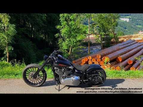 Harley-Davidson FXSB Breakout Rideout 17 06 17 - игровое