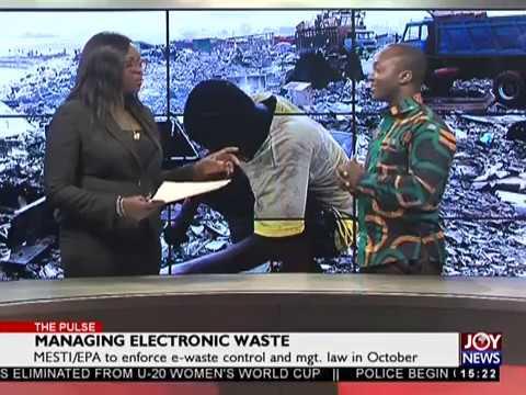 Managing Electronic Waste - The Pulse on JoyNews (9-8-18)