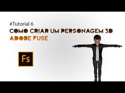 #Tutorial 7 – Como Criar um Personagem 3D – Adobe Fuse