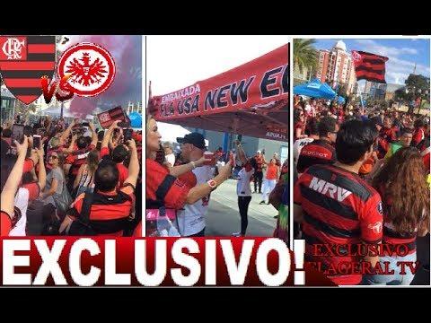 🌎EXCLUSIVO!✈ DIRETO DE ORLANDO! NAÇÃO FAZ A FESTA ANTES DA FINAL FLAMENGO X FRANKFURT - FLAGERAL USA