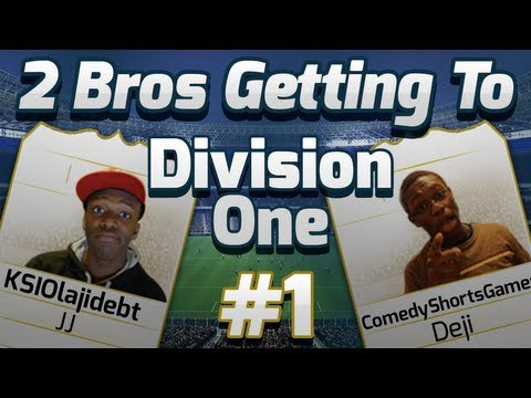 FIFA 14 | 2 Bros Getting To Division One #1