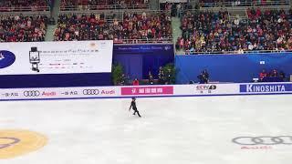かえる撮影2017北京大会男子SP田中刑事選手❣️!*\^o^/*