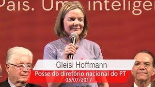 Gleisi Hoffmann | Posse do Diretório Nacional do PT