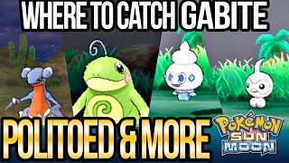 Vanillite  - (Pokémon) - How to Catch Politoed, Goomy, Gabite, Vanillite & More in Pokemon Sun and Moon | Austin John Plays