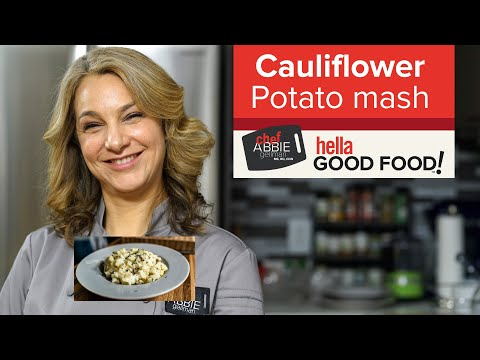 Cauliflower Potato Mash