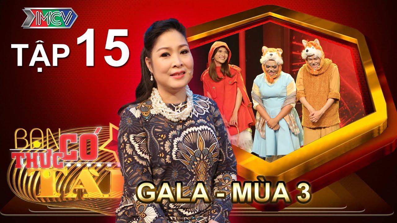 BẠN CÓ THỰC TÀI | Mùa 3 - Tập 15 | Hồng Vân trở lại ghế nóng đêm GALA đầu tiên | 04/07/2016