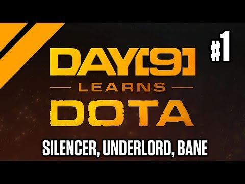 Day[9] Offlanes w/ Purge - Silencer, Underlord, Bane P1