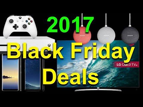 2017 Best Black Friday Deals - Google Home Mini, Amazon Echo Devices, LG B7 OLED TV