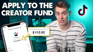 How To Join The TikTok Creator Fund (Signing Up & Getting PAID)