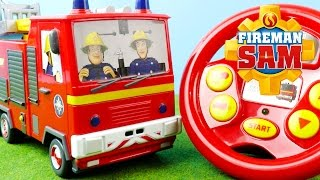 Fireman Sam Toys - Drive and Steer Jupiter | Ad Feature