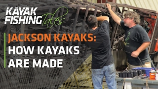 How Kayaks are Made | Jackson Kayak Factory in Tennessee