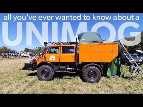 , title : 'Ultimate Overland Vehicle - Unimog Walk Around - Overland Expo East 2017'