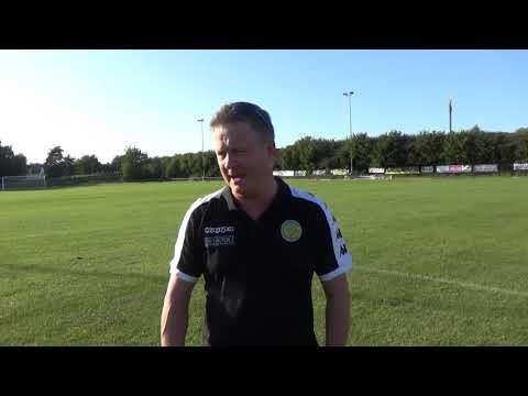 1920 Tommy Brookbanks Post-Match Sheffield FC 21/09/2019