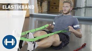 Übungen für das Training mit Elastikband | Fitness & Kraftsport | Sport-Thieme