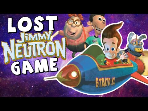 Mystery of the LOST Jimmy Neutron Game (Gotta Blast! Rocket Race)