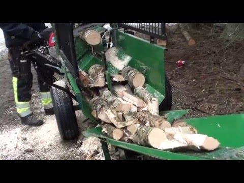 Kellfri spracovateľ palivového dreva / Brennholz-Prozessor /  firewood processor