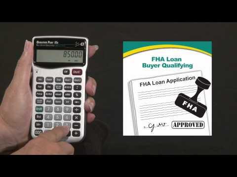 Qualifier Plus IIIx - Buyer Qualifying FHA Loan