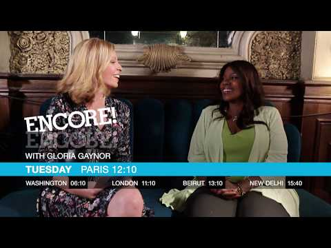 Encore! with Gloria Gaynor on France 24