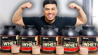I Tried NEARLY Every WHEY Protein Shake Flavour