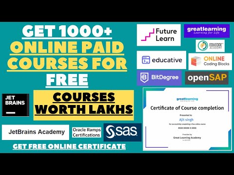 Get 1000+ Online Paid Courses For Free | Get Free Online ...