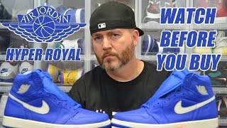 Watch Before You Buy  Jordan 1 Hyper Royal !!! 2018 Most Slept On 633392f97