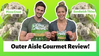 PRODUCT REVIEW: Outer Aisle Gourmet Cauliflower Pizza Crusts And Sandwich Thins
