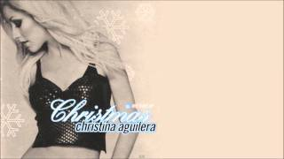 Christina Aguilera - The Christmas Song (Holiday Remix) + Lyrics