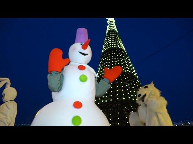 В Ангарске дан старт Новогодним праздникам